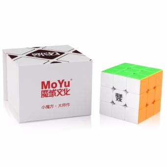 MoYu WeiLong GTS2 3x3x3 Speed Magic Cube Puzzle Stickerless