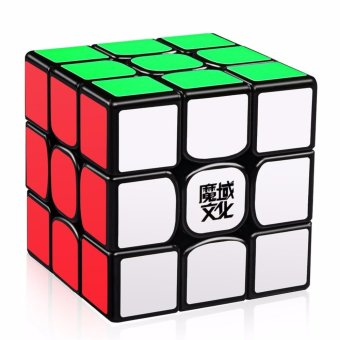 MoYu WeiLong GTS2 3x3x3 Speed Magic Cube Puzzle YJ8250 Black