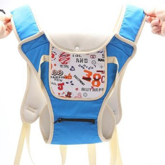 Multi-fuctional baby carriers shoulders backpack with numbers (Blue) - 5