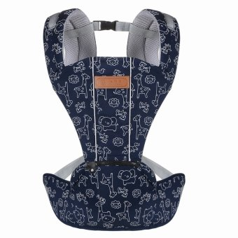 Multi-fuctional breathable baby Slings carriers shoulders backpack (Blue)