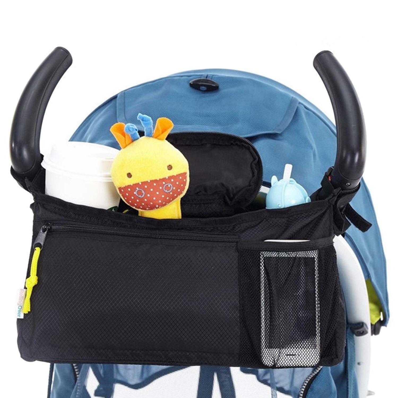 Baby Stroller Hanging Organizer Under Net Pram Cart Holder Bags Basket Universal