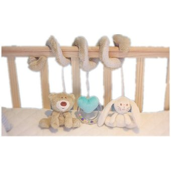 Multifunctional Bed Hanging Bell Baby Toys Educational Rattles for Kids Best Gift (Intl)