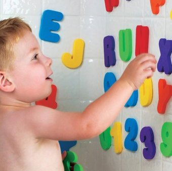 Munchkin Bath Letters and Numbers - picture 2