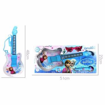 Music Guitar with Lights and Music Frozen (Blue) Price Philippines