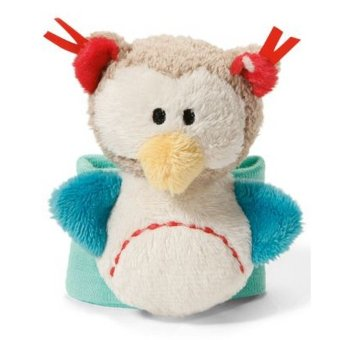 MY FIRST NICI Wrist Rattle - Owl