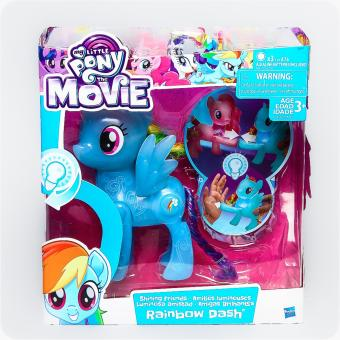 My Little Pony The Movie Rainbow Dash - Shining Friends