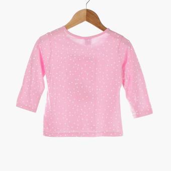 Nap Baby Girls Good Night Pajama Set (Pink) - 3