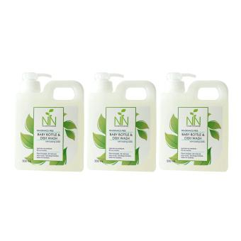 Nature to Nurture Baby Bottle and Dish Wash 500ml Set of 3