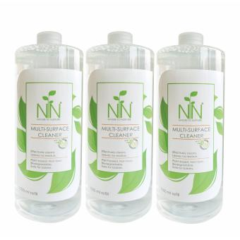 Nature to Nurture Multi Surface Cleaner 1000ml refill pack of 3 Price Philippines