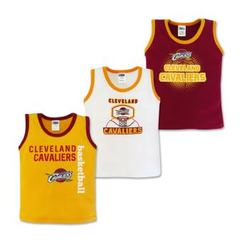 NBA Baby - 3-piece Sando (Cavaliers Basketball) 6-9 Months