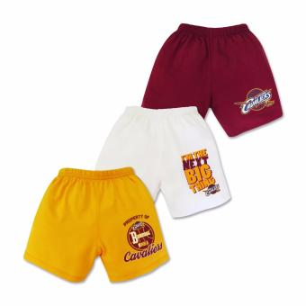 NBA Baby - 3-piece Shorts (Next Big Thing - Cavaliers) 3-6 Months