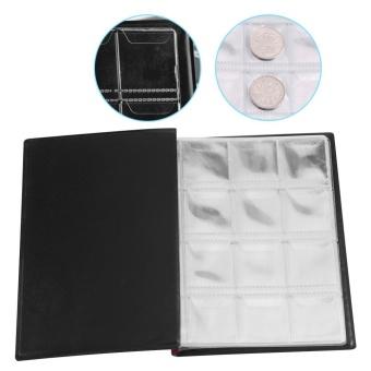 New 120 Pockets 10 Pages World Coin Storage Folder Album MoneyCollecting Holder Book Black - intl - 4