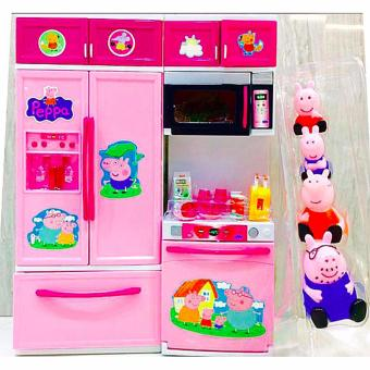 New 2017 Peppa Pig Family Figures and Kitchen Toy Set Price Philippines