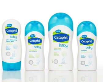 New Cetaphil Baby Set (Daily Lotion 400ml/Ultra Moisturizing BabyBath and Wash 230ml/ Gentle Wash & Shampoo 230ML Baby Oil200ml)
