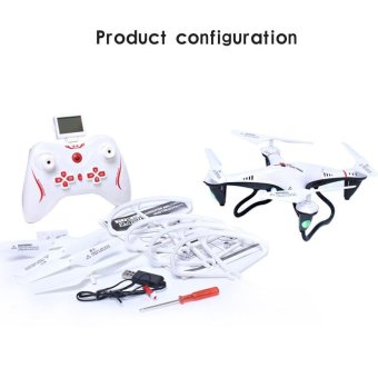 New Explorers 2.4Ghz 4CH 6-Axis Gyro RC Drone RTF Helicopter White- intl Price Philippines