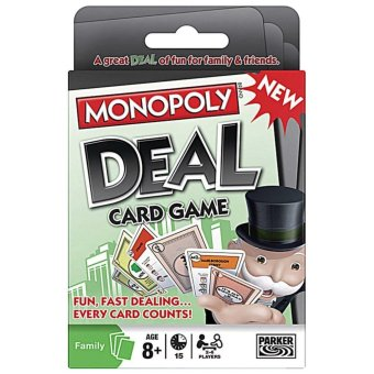 New Monopoly Deal Game Cards - intl