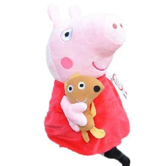 New Peppa Pig Stuffed Soft Figures Toy Plush Doll 19CM/7.5inch Kids Baby Gift - intl