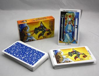 New Radiant Rider Tarot Cards English Version Best Quality BoardGame Playing Cards for Party Cards Game - intl