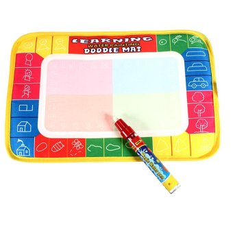 New Water Writing Painting Drawing Mat Board and Magic Pen DoodleKid Game - intl Price Philippines