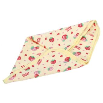 Newborn Baby Changing Urinal Pad Waterproof Infant Cotton DiaperChanging Mat (Strawberry S) - intl