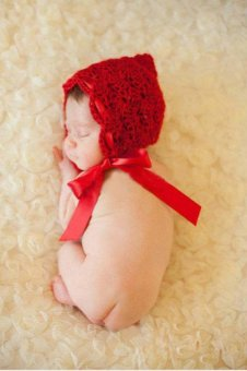 Newborn Baby Girls Boys Crochet Knit Costume Photo Photography PropOutfit Little red riding hood Price Philippines