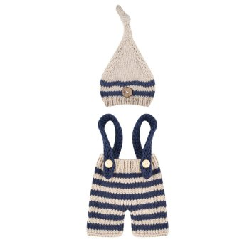 Newborn Baby Girls Boys Photography Prop Crochet Knit Costume -