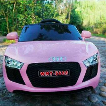 NEWEST AUDI SPORT EDITION 6V RIDE CAR FOR KIDS, BOYS AND GIRLS WITHMUSIC, LIGHTS (pink) - 3