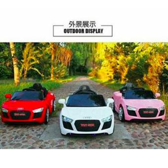 NEWEST AUDI SPORT EDITION 6V RIDE CAR FOR KIDS, BOYS AND GIRLS WITHMUSIC, LIGHTS (pink) - 5