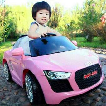 NEWEST AUDI SPORT EDITION 6V RIDE CAR FOR KIDS, BOYS AND GIRLS WITHMUSIC, LIGHTS (white) - 5