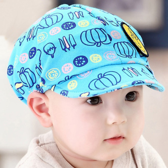 Newest Summer Newborn Baby Hat Kids Cap Infant Baby Hat for Boysand Girls-blue - 2