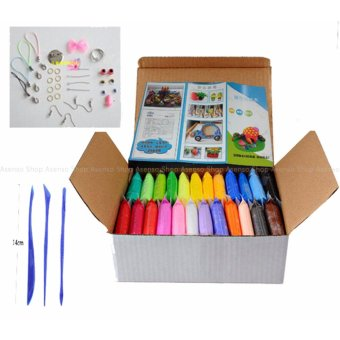 Non Toxic 24 Colors DIY Polymer Clay Set