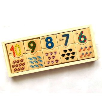 Number Domino Puzzle Toy