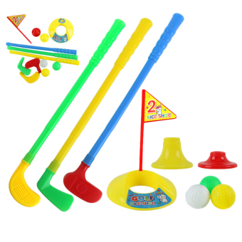 OH 1 Set Multicolor Plastic Golf Toys for Children Outdoor Backyard Sport Game
