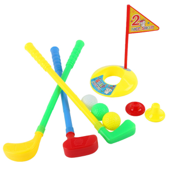 OH 1 Set Multicolor Plastic Golf Toys for Children Outdoor Backyard Sport Game - picture 2