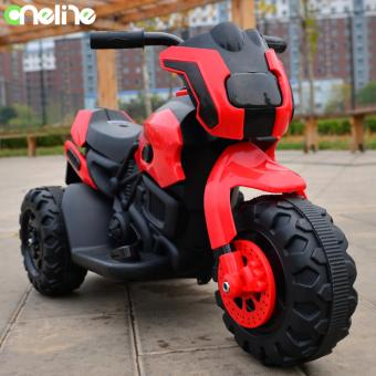 Oneline HL8389 Rechargeable electric three-wheeled motorcyclechildren ride-on toys with Music