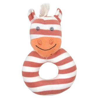 Organic Farm Buddies Poncho the Pony Rattle Multicolor