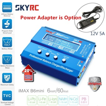 Original SKYRC IMAX B6 MINI Balance RC Charger/Discharger For RCHelicopter Re-peak NIMH/NICD Aircraft+Power Adpater(optional) -intl