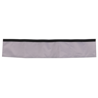 Oxford Fabric Fastener Handle Bar Cover for Buggy Baby Pram Pushchair Grey