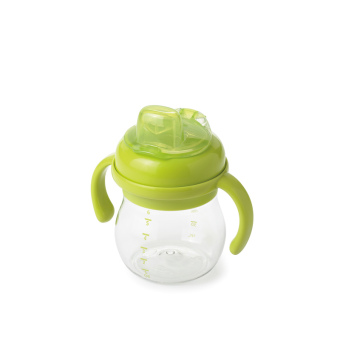 OXO Tot Grow Soft Spout Cup w/ Handles, 6 oz.green