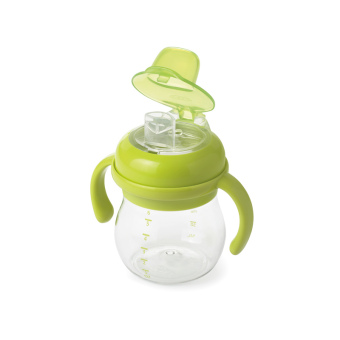 OXO Tot Grow Soft Spout Cup w/ Handles, 6 oz.green - 2