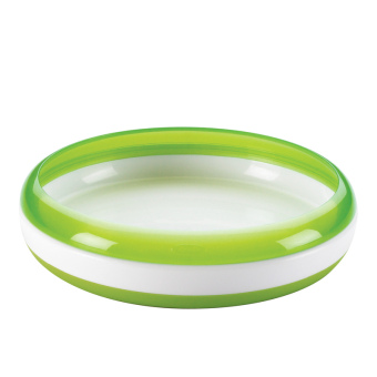 OXO TOT TRAINING PLATE - GREEN