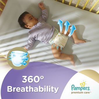 Pampers Premium Care Diaper New Born 66s - 4