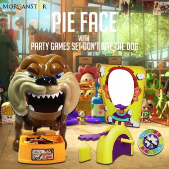 Party Games Set Don't Bite The Dog + Pie Face