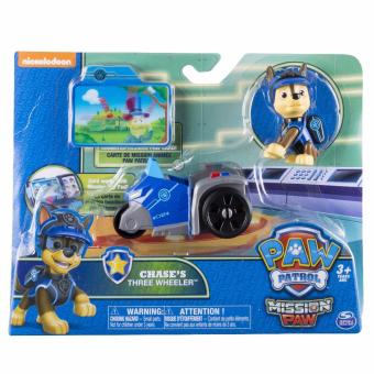 Paw Patrol Mini Vehicles with Figure - Chase's Three Wheeler - 3