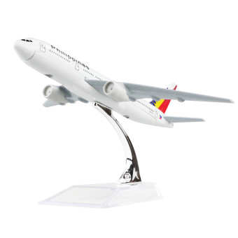 Philippine Boeing 777 16cm Metal Airplane Models Child BirthdayGift Plane Models Home Decoration - intl