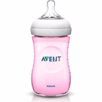 Philips Avent SCF 694/13 Natural Pink 1m + 260ml, Baby Bottles(Pink) Price Philippines