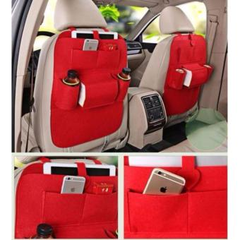 Phoebe's Car Back Seat Organizer (Red)