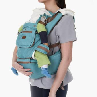 Picolo 5-in-1 Soft Carrier with Hip Seat and Pockets (Teal)