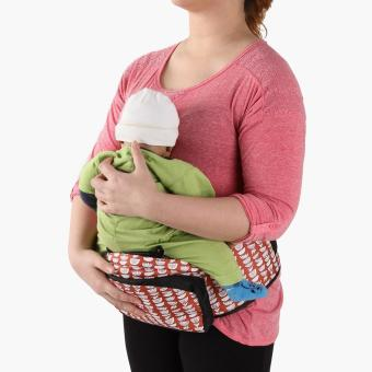 Picolo Hip Seat Carrier (Red) - 2