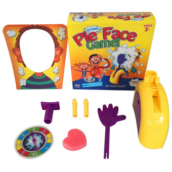 Pie Face Game Board FamilyToys Rocket Games Fun Christmas Gift